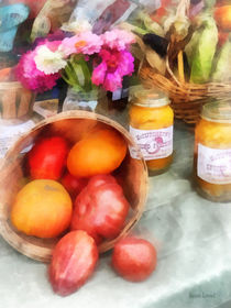 Tomatoes and Peaches von Susan Savad