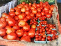 Tomatoes For Sale von Susan Savad