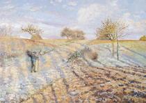 White Frost von Camille Pissarro