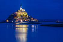 Le Mont Saint Michel von Moritz Wicklein