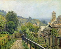 Louveciennes or, The Heights at Marly von Alfred Sisley