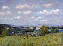 The Valley of the Seine at Saint-Cloud von Alfred Sisley