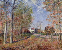 A Corner of the Woods at Sablons von Alfred Sisley