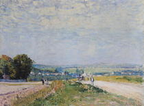 The Road to Montbuisson at Louveciennes von Alfred Sisley