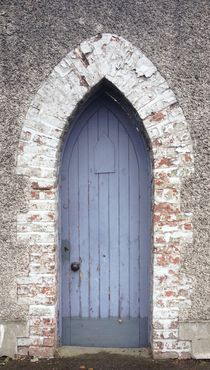 Monks door by Ruth Baker