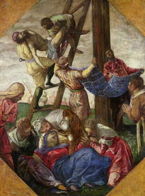 The Descent from the Cross by Jacopo Robusti Tintoretto
