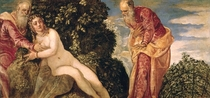 Susanna and the Elders  by Jacopo Robusti Tintoretto