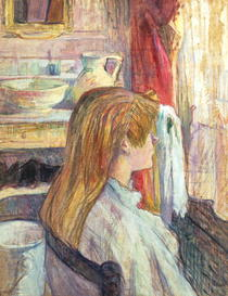 Woman at the Window by Henri de Toulouse-Lautrec