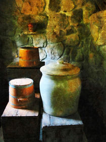 Ginger Jar and Buckets by Susan Savad