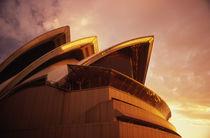 Sydney Opera House Sunset von David Halperin
