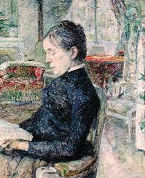 Adele Tapie de Celeyran  by Henri de Toulouse-Lautrec