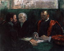 Examination at the Faculty of Medicine von Henri de Toulouse-Lautrec