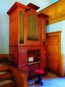 Organ in Church by Susan Savad