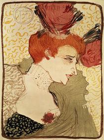 Mlle. Marcelle Lender by Henri de Toulouse-Lautrec