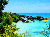 Beach at St. George Bermuda von Susan Savad