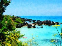 Beach at St. George Bermuda by Susan Savad