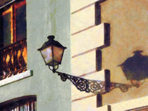 San Juan Street Lamp by Susan Savad