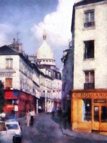 Paris Street by Susan Savad