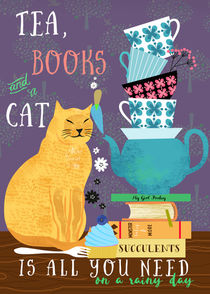 Tea-books-and-a-cat