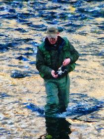 Man Fishing von Susan Savad