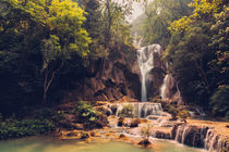 Kuang Si Waterfalls by David Pinzer