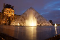Louvre Museum by Bethania Duval