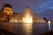 Louvre Museum von Bethania Duval