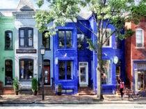 Alexandria VA - Colorful Street by Susan Savad