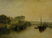 Petworth, Sussex, the Seat of the Earl of Egremont: Dewy Morning von Joseph Mallord William Turner