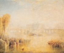 View of the Pont Neuf von Joseph Mallord William Turner