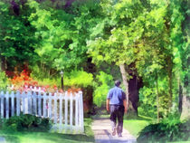 Lovely Day for a Walk by Susan Savad