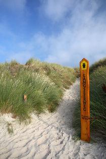 Strandzugang von Jens Uhlenbusch