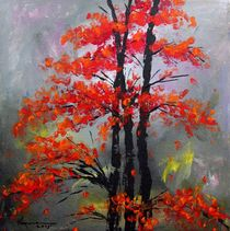 Misty Autumn by Kume Bryant