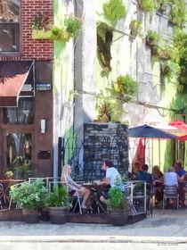 Philadelphia PA - Outdoor Cafe von Susan Savad