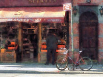 Manhattan NY - Wines and Spirits Greenwich Village by Susan Savad