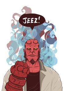 Jeez! Hellboy von Geo Law