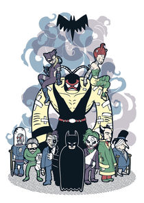 Batman and Friends by Geo Law