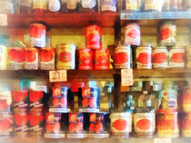 Canned Tomatoes by Susan Savad