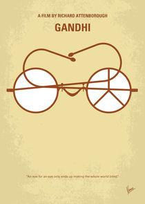 No543 My Gandhi minimal movie poster von chungkong