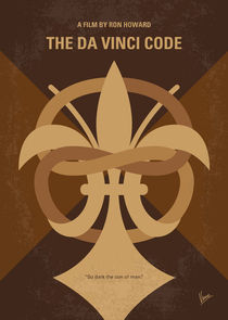 No548-my-da-vinci-code-minimal-movie-poster