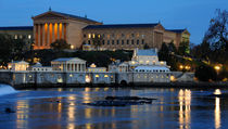 Philadelphia Art Museum And Fairmount Water Works by Gary Whitton