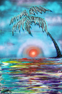Tropical Sunset von Laura Barbosa