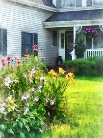 Fa-gardenwithconeflowersandlilies