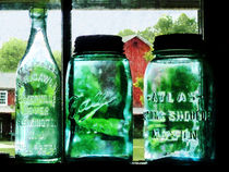 Bottles and Canning Jars by Susan Savad
