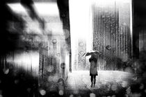 A raining day in Berlin by Stefan Eisele
