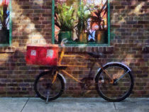 Manhattan NY - Delivery Bicycle Greenwich Village von Susan Savad