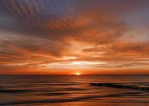 Sonnenaufgang an der Ostsee von Franziska Rullert