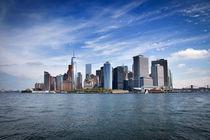 Manhattan Skyline von pixelkunst