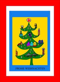 Frankfurter Weihnachtsbaum by Hans-Peter Scherbaum