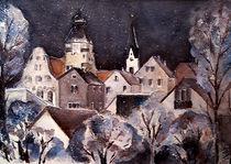 'Weihnachtskarte - Simbach Winternacht' by Chris Berger